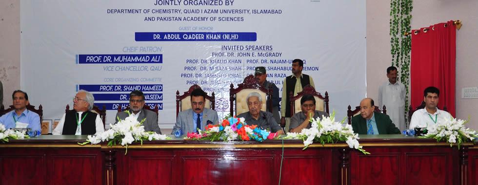 Quaid-i-Azam University, Islamabad , Pakistan