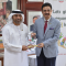 UAE Embassy Donates Hand Sanitizers and Books to QAU